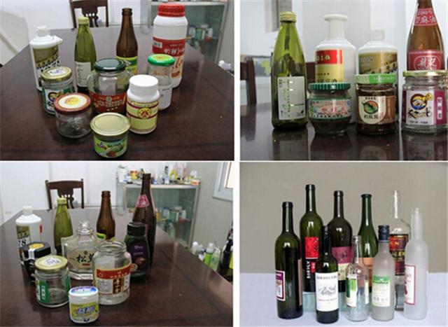 Aplicación de la máquina etiquetadora etiquetadora de botellas redondas: