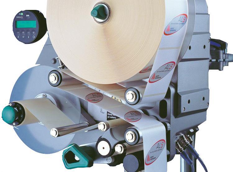 Fabricante de la máquina etiquetadora de la taza de leche de la superficie superior de la etiqueta auto