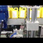 Máquina etiquetadora automática de botellas de líquido limpiador