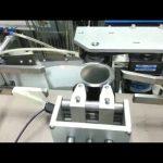 Aplicador automático de etiquetas adhesivas de dos o uno de copa cónica