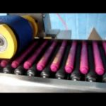 Máquina automática de etiquetado en barra de bálsamo labial de crayones