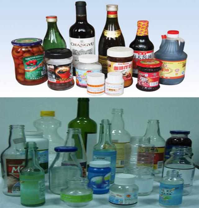 Botellas redondas lineales automáticas Máquina de etiquetado de pegamento húmedo de pasta fría