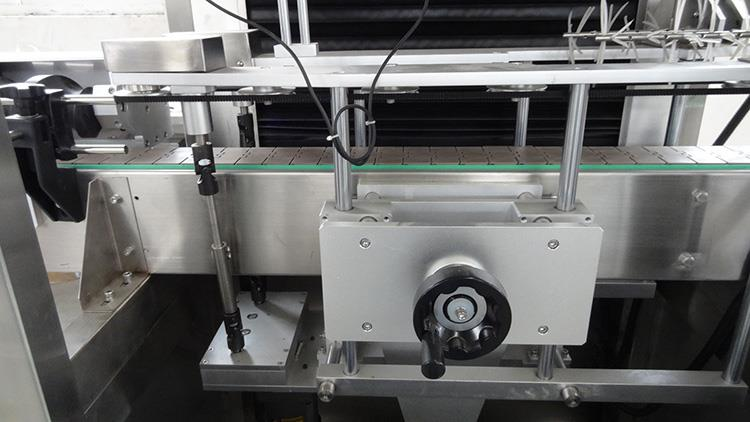Máquina automática de etiquetado de botellas de manga retráctil de PVC