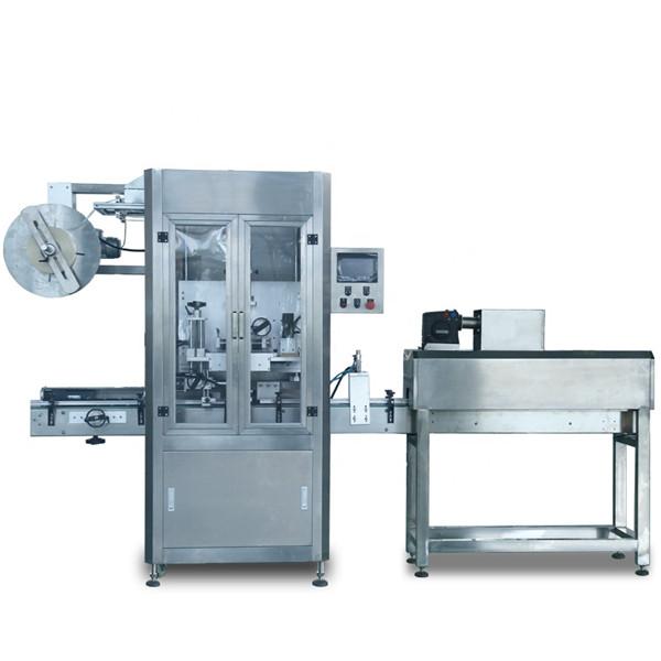 Máquina automática de encogimiento de etiquetado de mangas de PVC