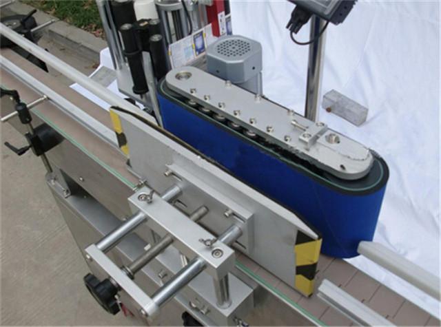 Detalles de la máquina etiquetadora de botellas redondas verticales automáticas
