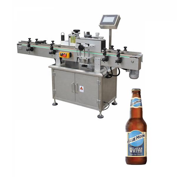 Máquina de etiquetado de botellas de cerveza