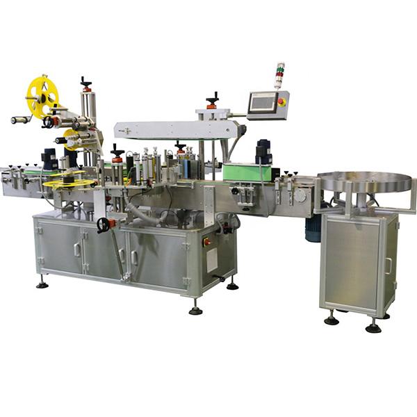 Máquina de etiquetado de múltiples lados para tapa de botella y cuerpo