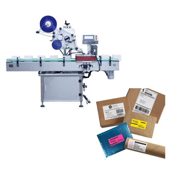 Máquina de etiquetado de cajas