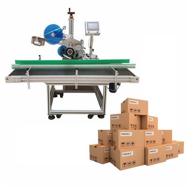 Máquina de etiquetado de cartón