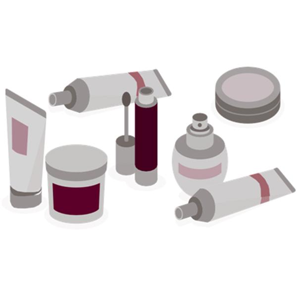 Equipo de etiquetado de cosméticos