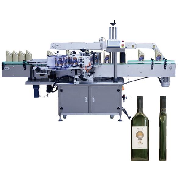 Máquina de etiquetado de botellas planas