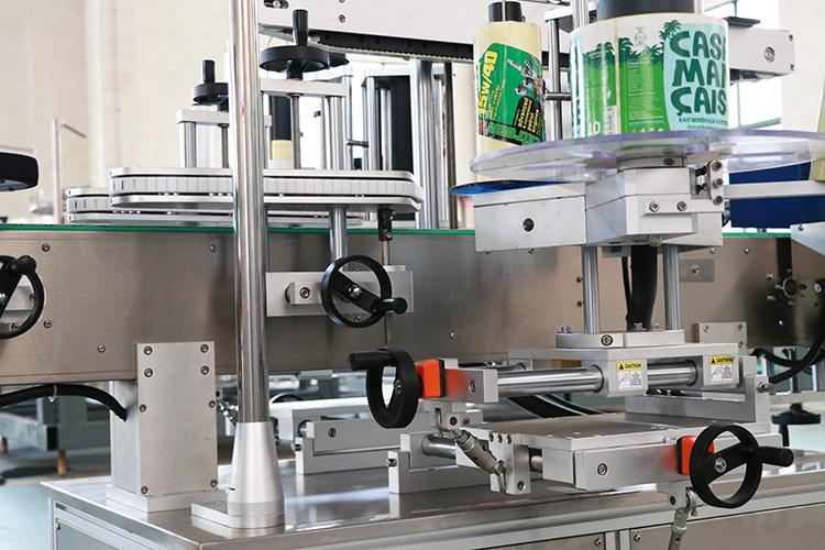 Máquina etiquetadora autoadhesiva de doble cara totalmente automática