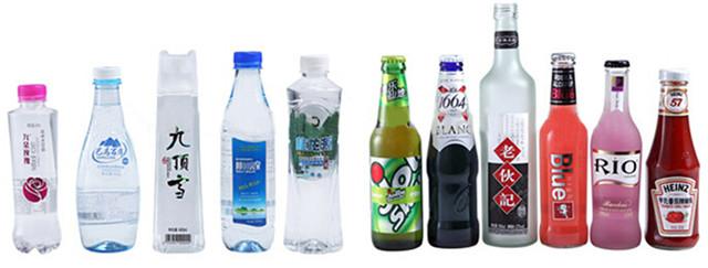 Máquina rotativa de etiquetado de botellas de plástico PET de alta velocidad totalmente automática Tipos de botella