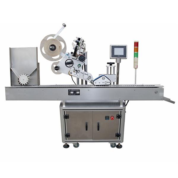 Máquina de etiquetado farmacéutica de jeringas horizontales completamente automática
