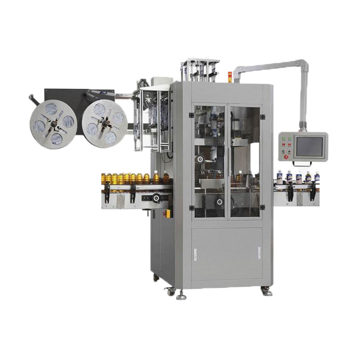 Máquina etiquetadora automática de manga elástica de alta calidad