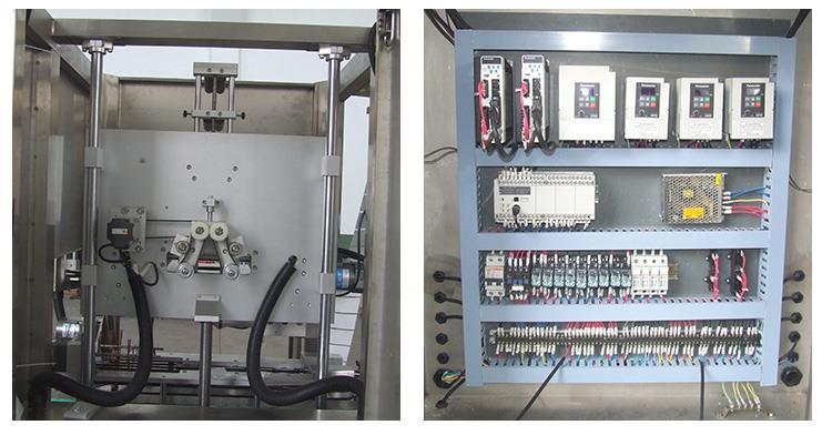 Máquina de etiquetado con aplicador retráctil de manga de PVC completamente automática de alta velocidad