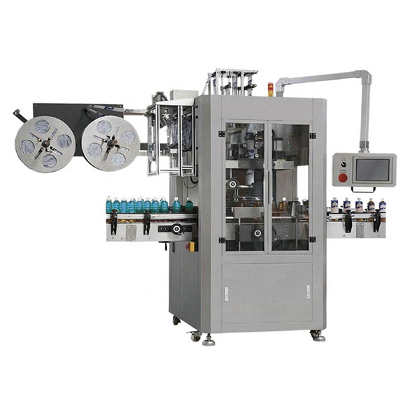 Máquina de etiquetado de mangas retráctiles totalmente automática de alta velocidad