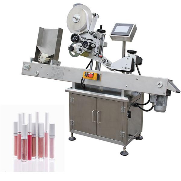Maquinaria de etiquetado de botellas pequeñas farmacéuticas automáticas horizontales