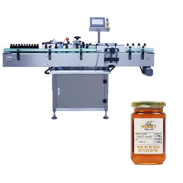 Máquina de etiquetado de tarros