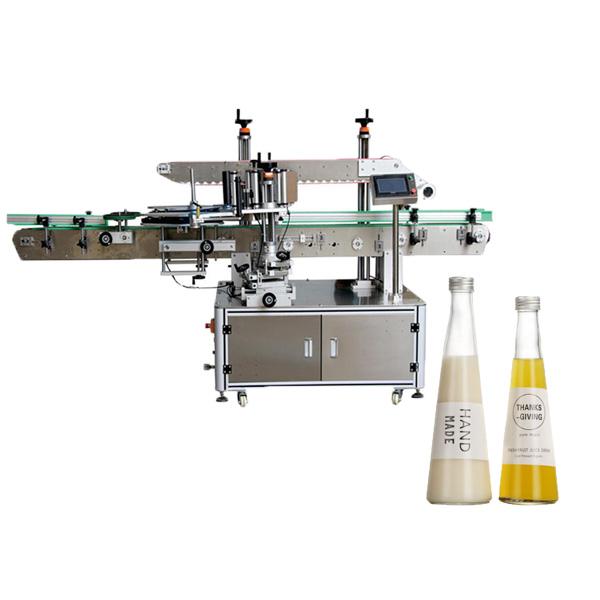 Máquina de etiquetado de botellas cónicas